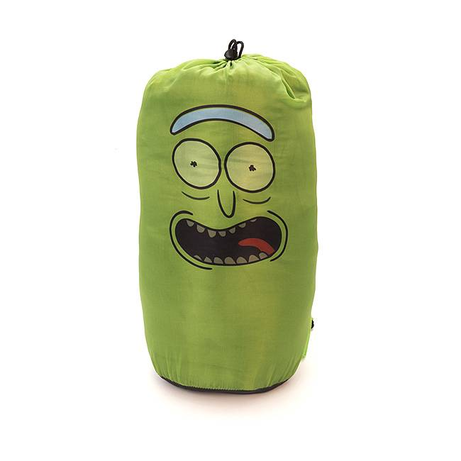 Rick and Morty Pickle Rick Sleeping Bag