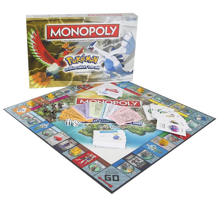Pokemon Monopoly Johto & Kanto Editions