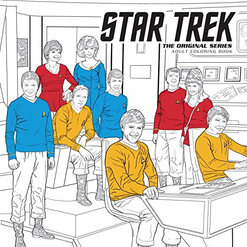 Buffy And Star Trek Coloring Books