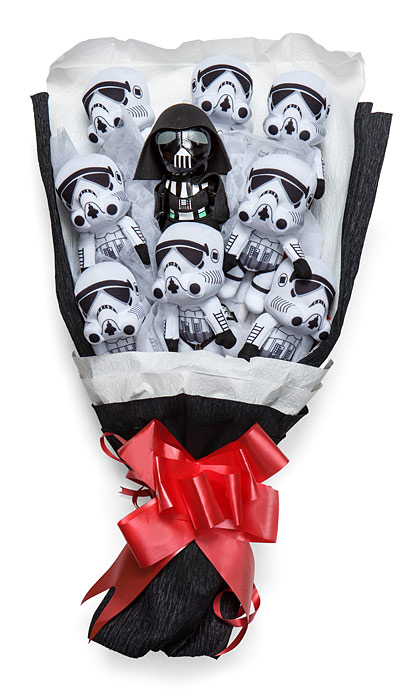 Star Wars & Other Plush Bouquets are the Perfect Geek Valentine
