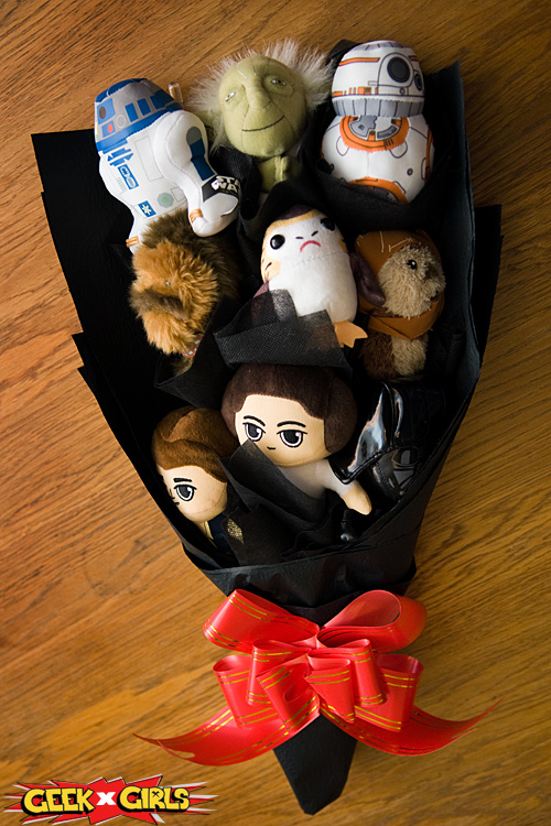 Star Wars Plush Bouquet Review