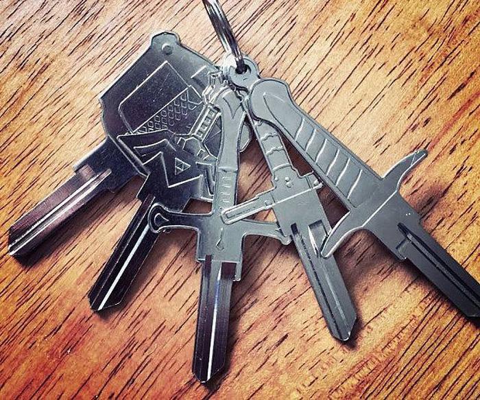 Sword Shaped Keys