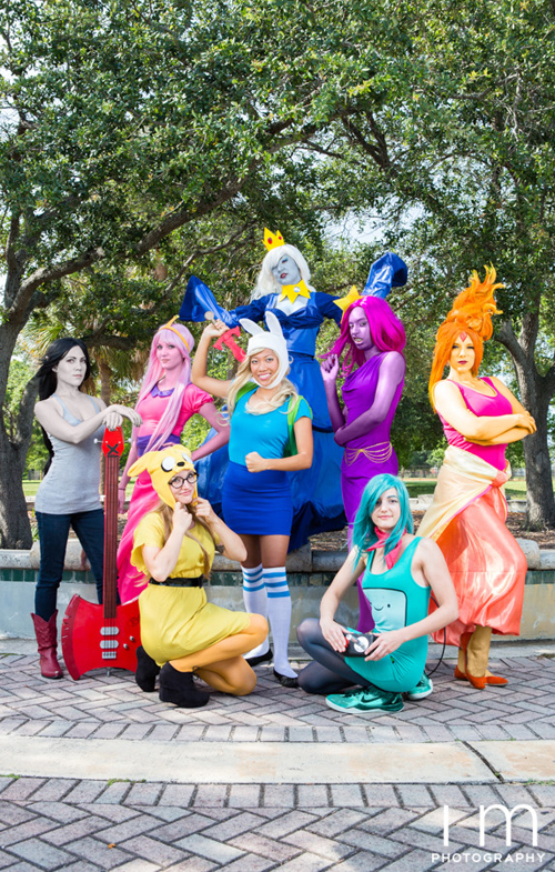 Adventure Time Group Cosplay