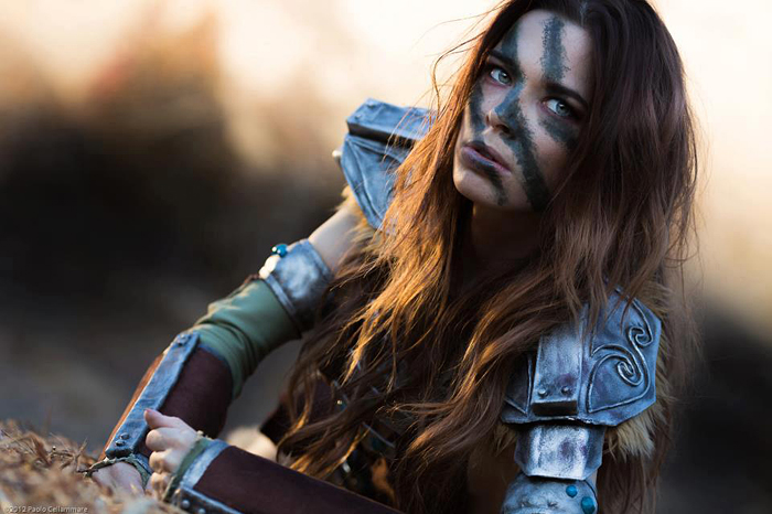 Are not Skyrim cosplay aela nude