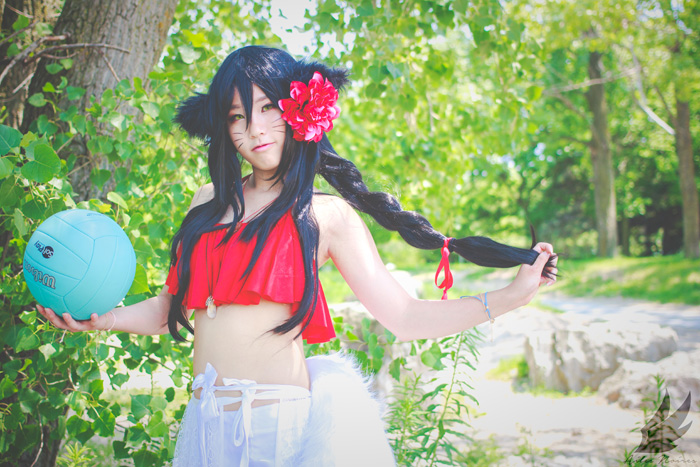 Pool Party Ahri from League of Legends Cosplay