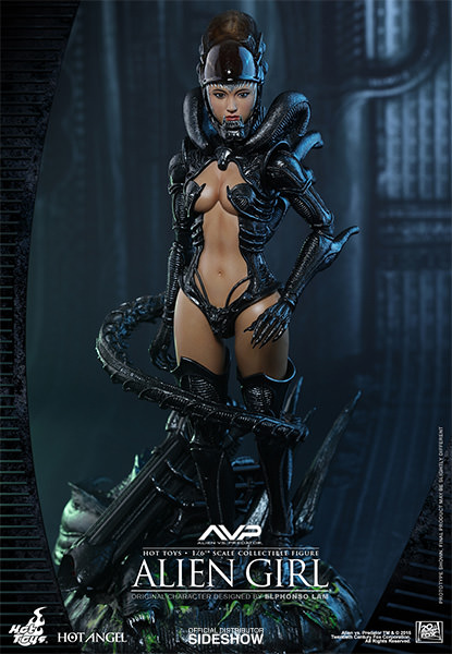 Alien VS Predator Alien Girl Sixth Scale Figure