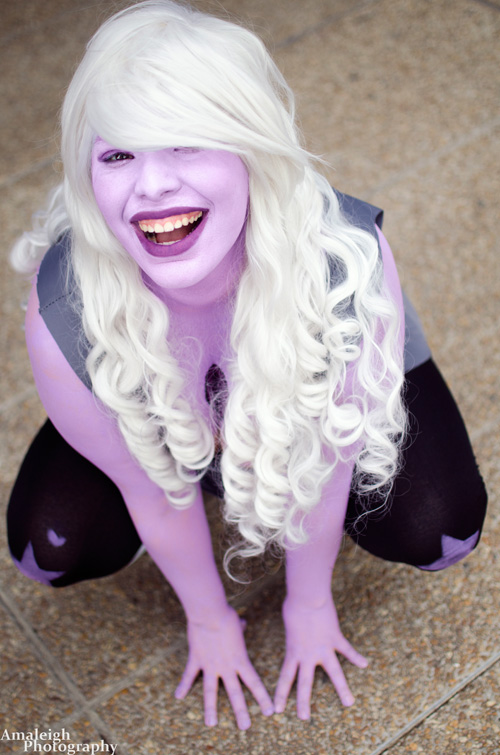 Amethyst from Steven Universe Cosplay