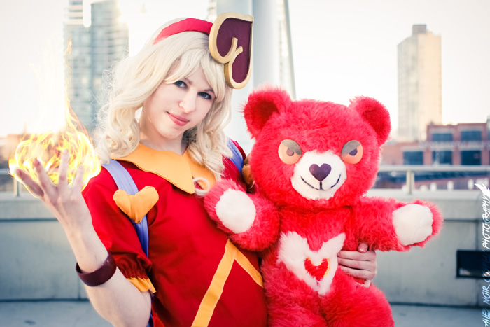 Sweetheart Annie from League of Legends Cosplay