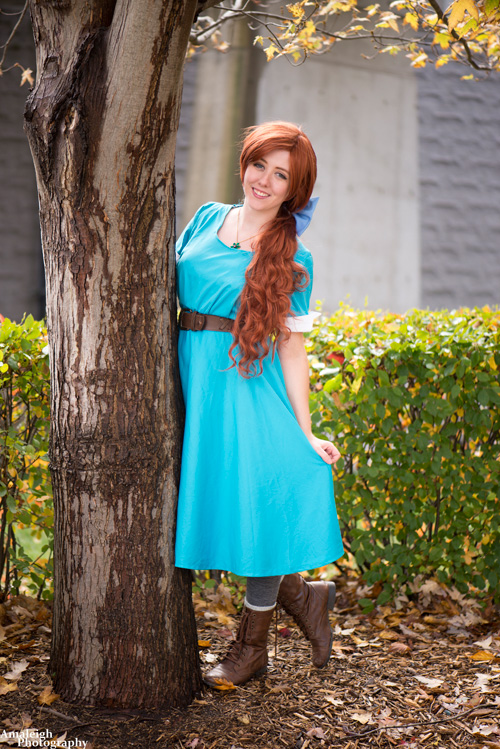 Anya from Anastasia Cosplay
