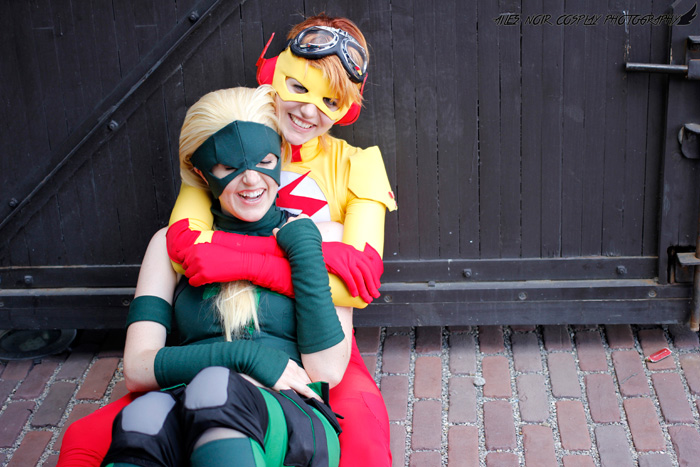 Artemis & Kid Flash from Young Justice Cosplay