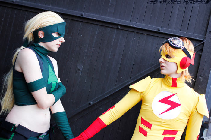 Artemis & Kid Flash Cosplay