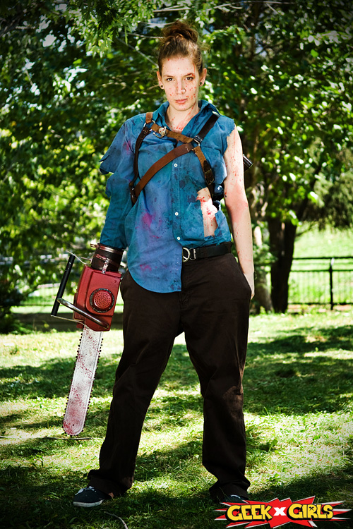 Ash Evil Dead Cosplay