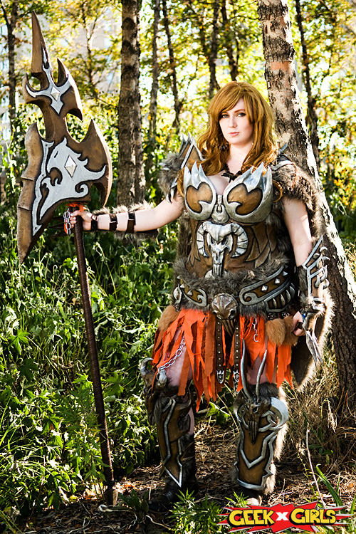 Diablo 3 Barbarian Cosplay