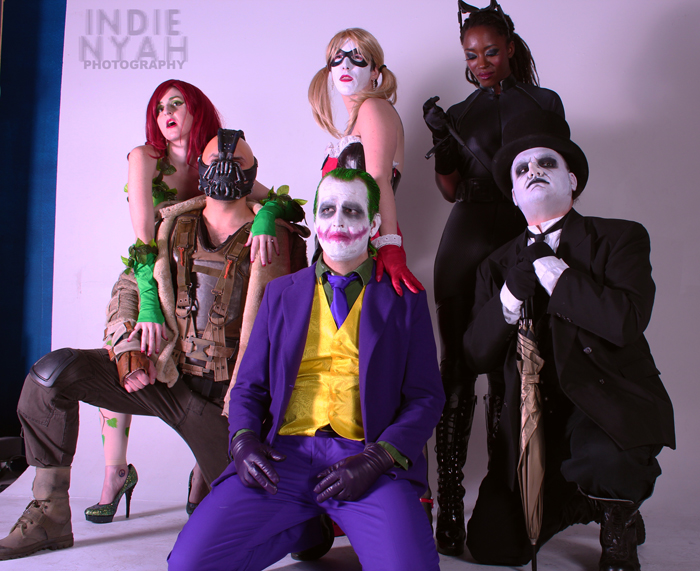 Batman Villains Group Cosplay