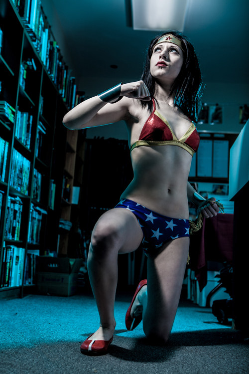 Superhero Bikini Photoshoot
