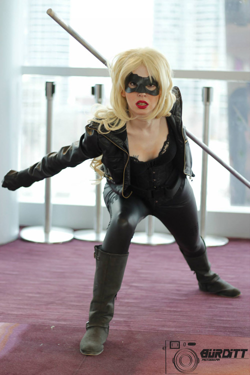 Black Canary Amp Arrow Cosplay