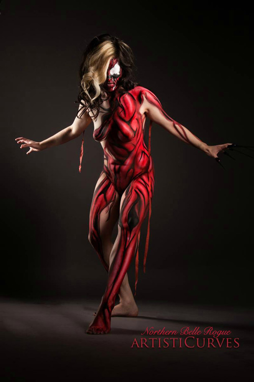 Carnage Rogue Body Paint