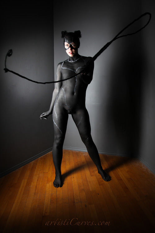 Catwoman Body Paint
