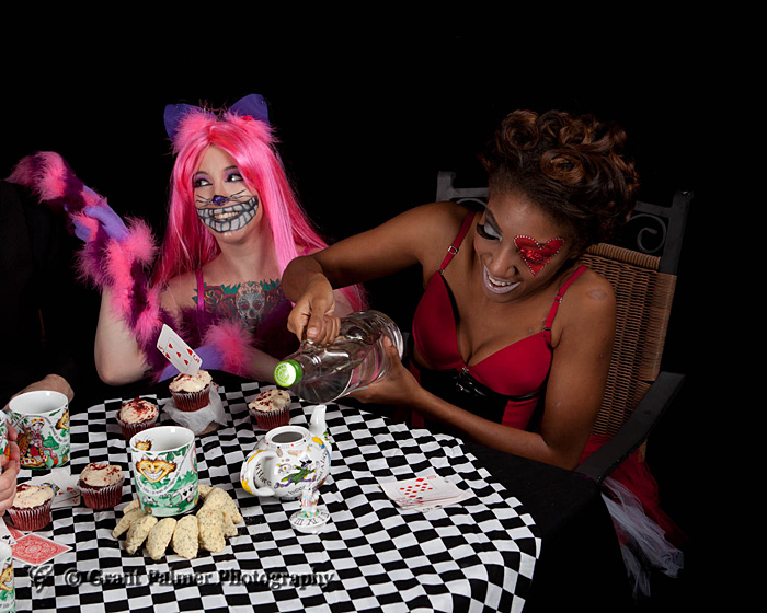 Cheshire Cat Alice in Wonderland Cosplay