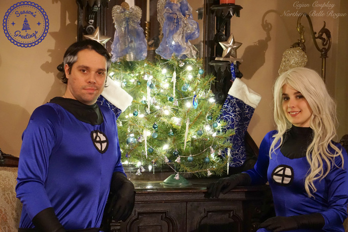 A Fantastic Christmas Eve Cosplay