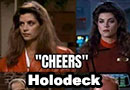 Proof That Cheers Was a Star Trek Holodeck Program