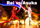 Rei vs Asuka - Evangelion meets Star Wars