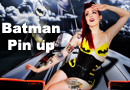 Batman Pin-Up