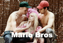 Peach Mario & Luigi Fashion shoot