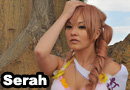 Serah Swimsuit DLC Cosplay