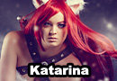 Kitty Cat Katarina from League of Legends Cosplay