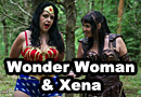 Xena and Wonder Woman Cosplay