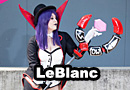 Leblanc from League of Legends Cosplay