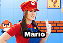 Miss Mario from Super Mario Brothers Cosplay