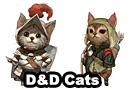 Dungeons & Dragons Cats Art