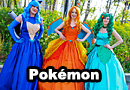 Pokemon Ball Gown Cosplay