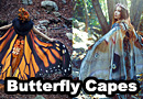 Gorgeous Butterfly & Moth Scarves & Capes