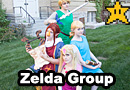 The  Legend of Zelda: The Wind Waker Group Cosplay