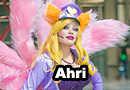 Popstar Ahri�from�League of Legends Cosplay