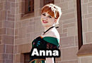 Anna from Frozen Cosplay
