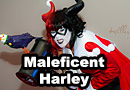 Harleficent: Harley Quinn/Maleficent Mashup Cosplay