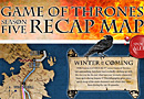 Game of Thrones Season Five Infographic