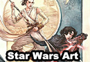 Star Wars: The Force Awakens Paintings