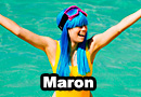 Maron from Dragon Ball Z Bathing Suit Cosplay