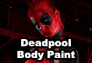 Deadpool Body Paint