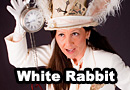 Steampunk White Rabbit Cosplay