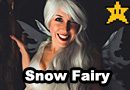 Snow Fairy Cosplay