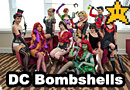 DC Bombshells Group Cosplay