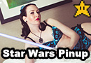 Star Wars Lingerie Photoshoot