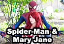 Mary Jane & Spider-Man Cosplay