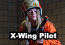 Star Wars X-Wing Pilot Cosplay
